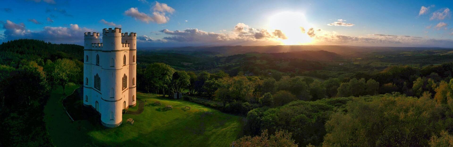 Devons hilltop view